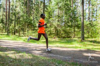 brahim Mukunga Wachira võitis esimest korda Tartu Jooksumaratoni 2015. aastal. Foto: Mallor Malmre