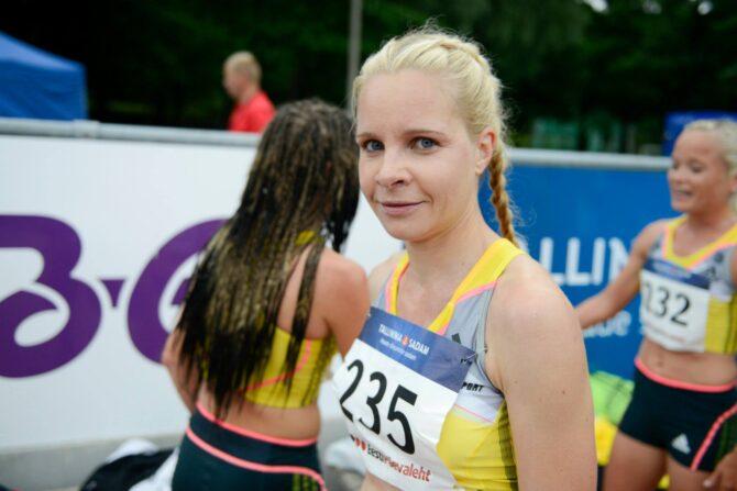 Evelin Talts on täis indu edasi joosta. Foto: Marko Mumm/EKJL