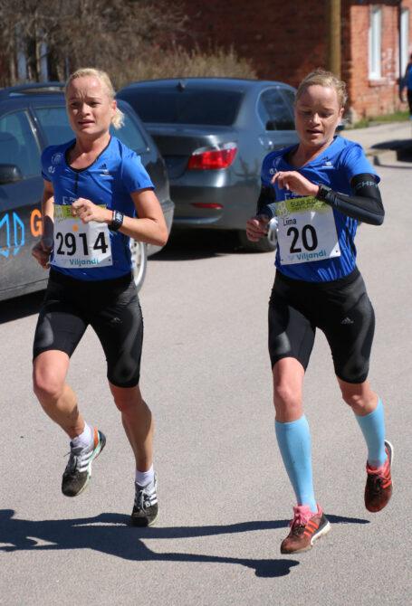 Leila ja Liina Luik. Foto: Sportfoto