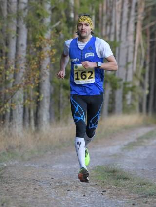 Ahto Tatter Jookmsas Saaremaa kolme päeva jooksul.  Foto: Riho Lüüs