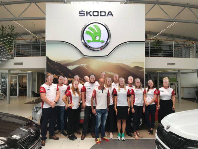 Škoda Tallinn tiim koos Rait Ratasepaga. Foto: Tanel Luik