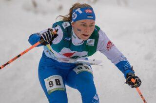Daisy Kudre võistlemas. Foto: Eesti Orienteerumisliit