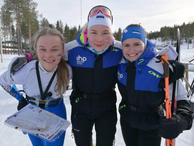 Eesti teatenaiskond Daisy Kudre, Doris Kudre, Epp Paalberg. Foto: Raul Kudre