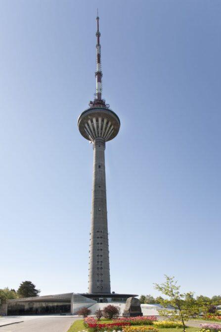 Tallinna teletorn. Trepijooksud