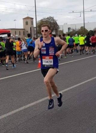 Mark Abner Lissaboni poolmaratonil. Foto: erakogu