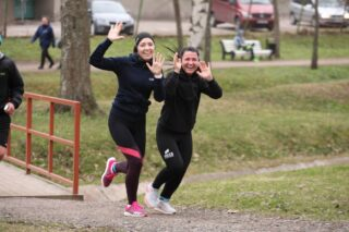 Tervisejooksjad Kadrioru pargis. Foto: SK Stamina