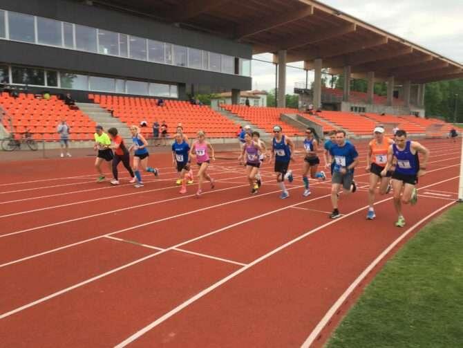 10 000 m start. Foto: Andrus Mutli