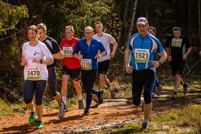 President Kersti Kaljulaid Tartu Maastikumaratonil. Foto: Tarmo Haud