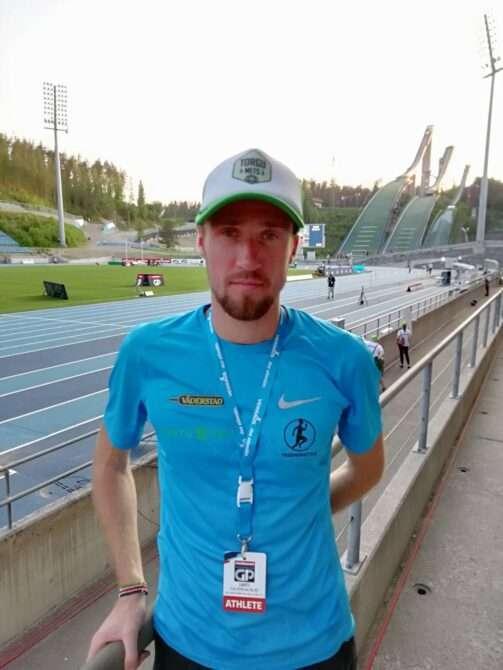 Olavi Allase Lahti staadionil. Foto: erakogu