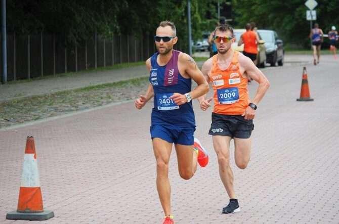 Roman Hvalõnski Ventspilsis jooksmas. Foto: erakogu