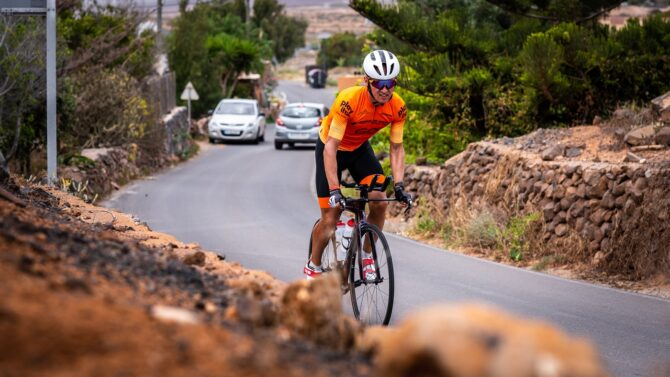 Rait Ratasepp Fuerteventural treenimas. Foto: Jakob Meier