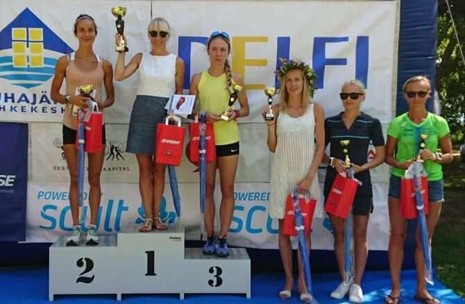 Parimad naised autasustamisel. Vasakult: Meril Beilman, Marion Tibar, Maria Veskla, Minna Kuslap, Kadiliis Kuiv ja Anne-Ly Palm. Foto: Ahto Jakson