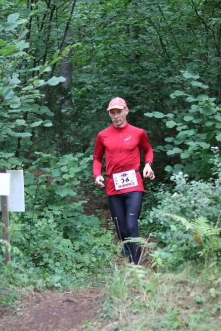 Hannes Veide Heavy Metal ultrajooksul. Foto: erakogu