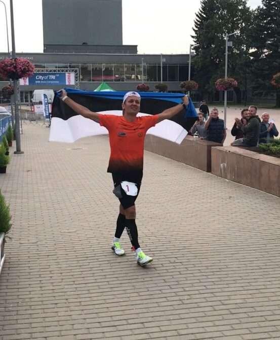 Rait Ratasepp Leedus finišeerimas. Foto: erakogu