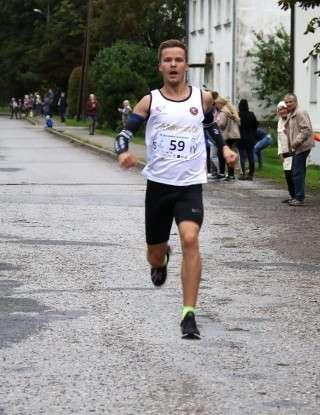 Mardo Lundver jooksu võitmas. Korraldajate foto