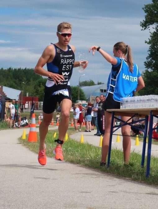 Henry Räppo jooksuetapi joogipunktis. Foto: erakogu