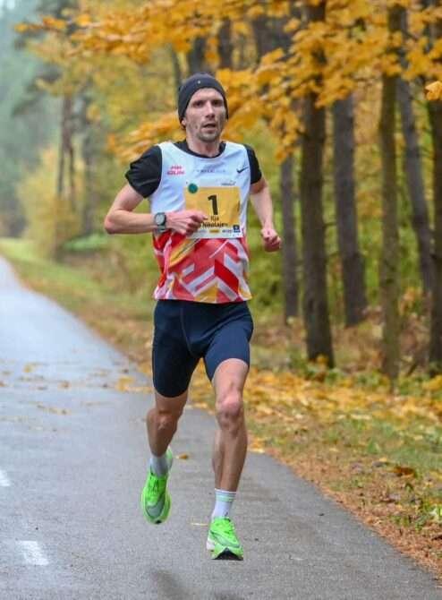 Ilja Nikolejav Saaremaa kolme päeva jooksu avaetapil. Foto: Riho Lüüs