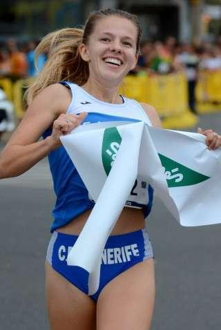 Johanna Ardel võitis Gran Canarial peetud Corte Inglesi tänavajooksu. Foto: erakogu