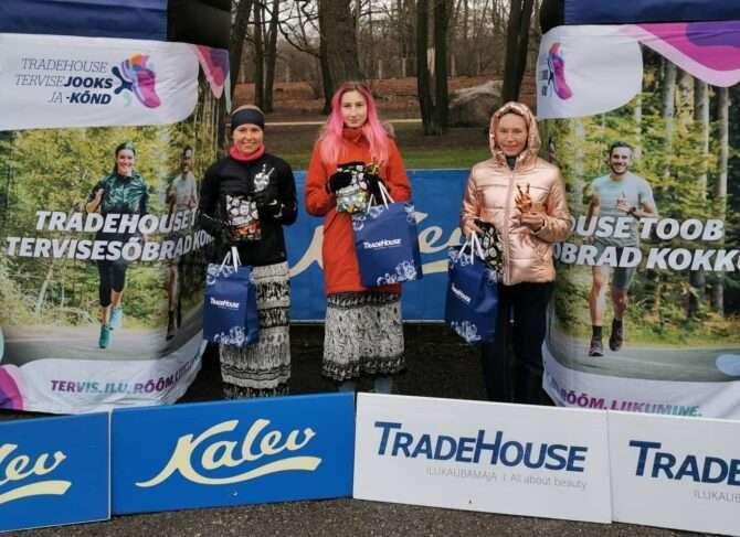 Vasakult: Mirjam Vint, Lisett Alt ja Jekaterina Pihlak. Foto: erakogu