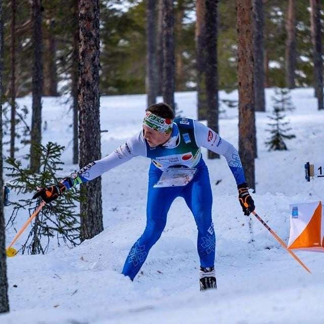 Mattis Jaama. Foto: Eesti Orienteerumisliit