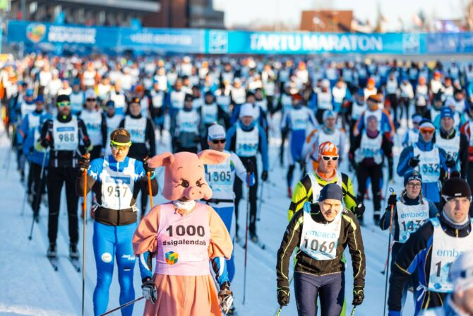 Tartu Maraton 2019. Foto: Adam Illingworth