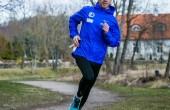 Treener Risto Ütsmüts jooksurajal. Foto: Siim Solman