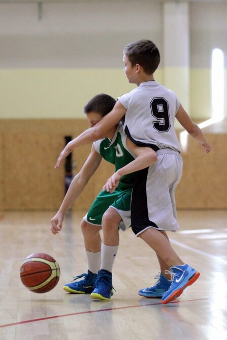 Noored korvpallurid. Foto: Siim Semiskar