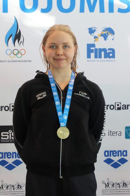 Margaret Markvardt. Foto: Merle Sirje Tael/Eesti Ujumisliit