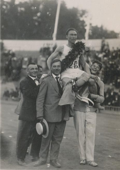Jüri Lossmann. Foto Eesti Spordi- ja Olümpiamuuseumi arhiivist.