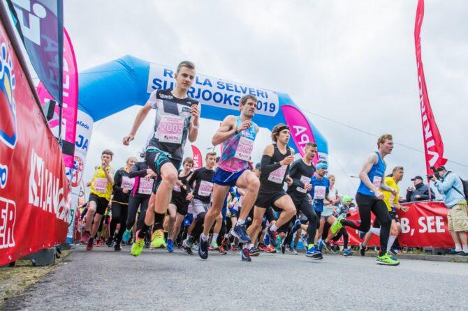 2019. aasta jooksu start. Foto: Siim Solman