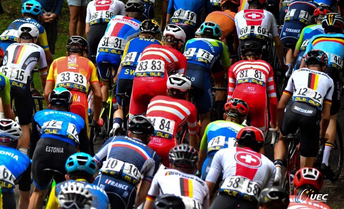 Fotol: Maanteeratturid Euroopa meistrivõistlustel Pilt: Euroopa Jalgratturite Liit